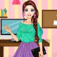 Rapunzel Modern College Fashion