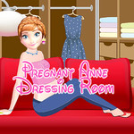 Pregnant Anne Dressing Room