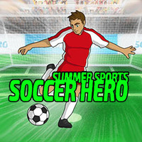 Summer Sports Soccer Hero