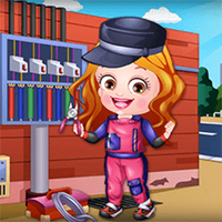 Popularne darmowe gry,You can play Baby Hazel Electrician Dress Up on UGameZone.com for free.  It's time to give Baby Hazel a stylish electrician makeover. She has to repair and maintain electric devices at her work place. Baby Hazel needs your help to get ready for this exciting new job. Choose from trendy collection of shirts, top and tees, pants, skirts, shoes, socks, caps, hair accessories, and hairstyle to give Baby Hazel a perfect electrician makeover. Enjoy and have fun!