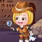 Baby Hazel Archaeologist Dress Up