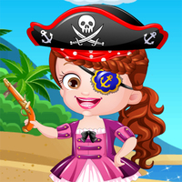 Baby Hazel Pirate Dress Up