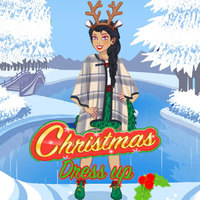 Популярные бесплатные игры,Christmas Dress Up is one of the Dress Up Games that you can play on UGameZone.com for free. Celebrate December 25th in a festive outfit! Christmas Dress Up lets you wear many different types of holiday clothing. You can try on Santa`s hat, funny elf ears, and a candy-cane scarf. Then, wear a pair of mistletoe earrings and a star necklace for Noel. Your lady`s wardrobe is filled with green and red dresses, patterned skirts, and warm sweaters. You can match pretty snowflake leggings with a blue and white skirt. Then, complete the Christmas outfit with a pair of reindeer slippers! Christmas Dress Up is one of our selected Dress Up Games.
