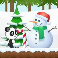 เกมออนไลน์ฟรี, Christmas Panda Run is one of the Running Games that you can play on UGameZone.com for free. There is a brave panda, in order to return home to celebrate Christmas with his family, decided to adventure with tireless running. Tap the buttons to jump and shoot on mobile or pad, press space bar to shoot and up arrow key to jump on PC. Collect the gold coins, step by step towards the goal.