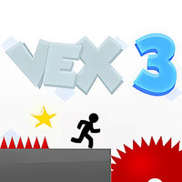 Popularne darmowe gry,Vex 3 is one of the Adventure Games that you can play on UGameZone.com for free. Use the arrow keys or WASD to move. Jump from side to side to climb up walls. Play new acts by standing on their act block and pressing the down arrow key. Purple blocks are weak so they will fall down if you step on them. Orange blocks are super bouncy and are great if you want to jump high into the air! The game contains many checkpoints, so you can always start from the latest one when you die.