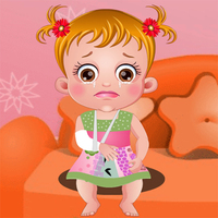 Popularne darmowe gry,You can play Baby Hazel Hand Fracture on UGameZone.com for free.  Baby Hazel got slipped while climbing up the table. Oh no! She is crying in pain as her hand is fractured. Go along with her to the doctor for medical treatment. Baby Hazel cannot move her plastered hand and is unable to perform her routine activities. Can you fulfill her needs and help her in performing routine activities? Take good care of Baby Hazel and give affectionate treatment to her.