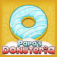 Tendencias de los juegos,Papa's Donuteria is one of the Restaurant Games that you can play on UGameZone.com for free. You just got a job at Papa's Donuteria in the whimsical town of Powder Point. Sure, the great pay and benefits are nice, but you took the job for that coveted Line-Jump Pass. Unfortunately, now you have to cook dozens of delicious donuts a day for all the crazy customers in this carnival-like town. Cut out the donuts, fry 'em up, and decorate them with a dizzying array of toppings.