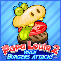Tendenze dei giochi,Papa Louie 2: When Burgers Attack is one of the Adventure Games that you can play on UGameZone.com for free. Papa Louie's foods become monsters! Now he has to defeat them to make them back to food. So can you help them avoid many obstacles and kill them all? Have a good time!