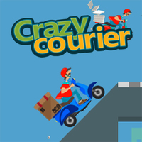 แนวโน้มเกม,Crazy Courier Ride is one of the Motorcycle Games that you can play on UGameZone.com for free. Do you like motorbike games? In this game, you must help the courier finish the express missions. Gain more red gem and unlock the best motorcycle. There are 15 levels for you! Enjoy and have fun!